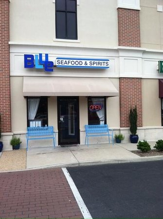 Blue Seafood and Spirits: Yup, this is the place