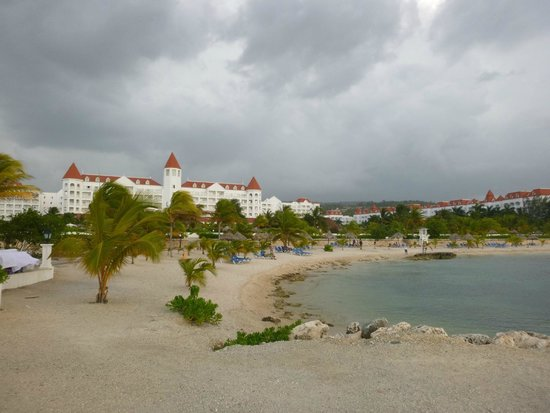 Grand Bahia Principe Jamaica : The hotel from next to the wedding gazebo