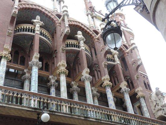 Palais de la Musique Catalane (Palau de la Musica Catalana) : Vista Externa