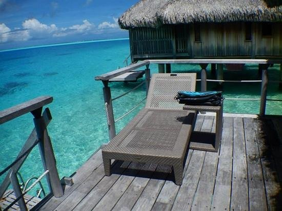 Conrad Bora Bora Nui: the deck