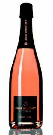 Champagne Louis Brochet : champagne rosé Louis brochet à déguster