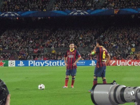 Camp Nou: Messi