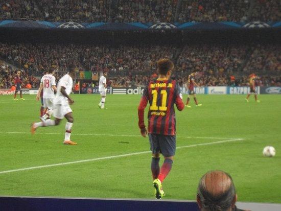 Camp Nou: Neymar
