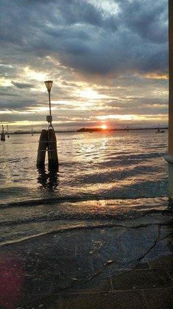 Hotel Tre Archi: sunset