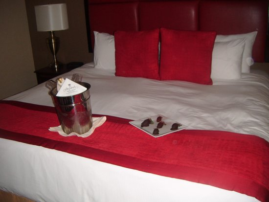 Fitzpatrick Grand Central Hotel: Nice Touch x