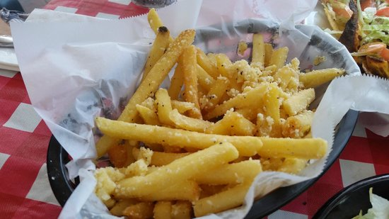 Pier 69: The Garlic Parm fries