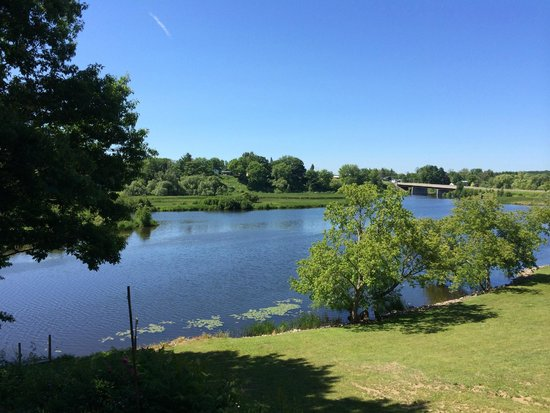 Douglaston Salmon Run : View from lodge