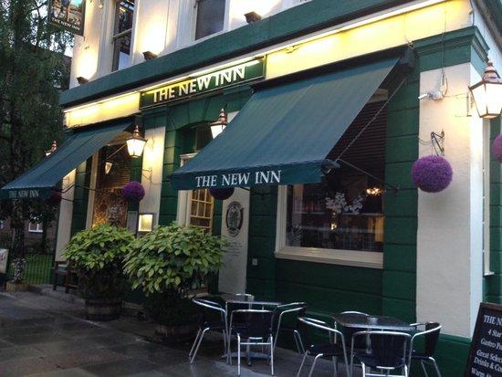 The New Inn B&B : Pub entrance