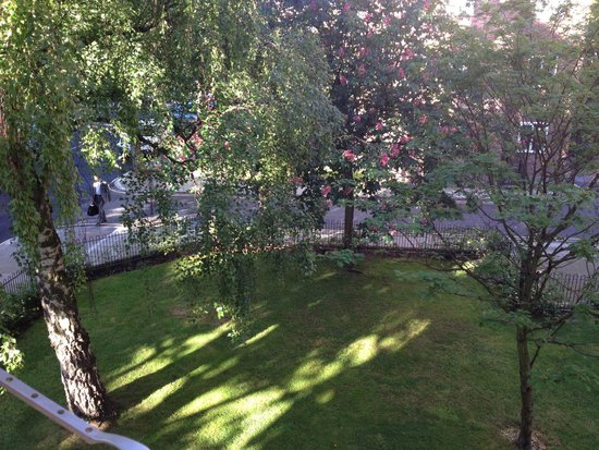 The New Inn B&B : View from the room