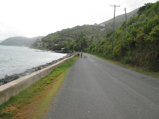 Sebastian's on the Beach: Just down the road walking towards Sugar Mill