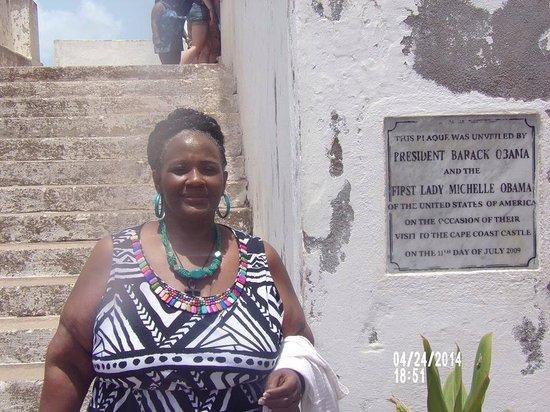 Linda Osei Cape Coast Castle