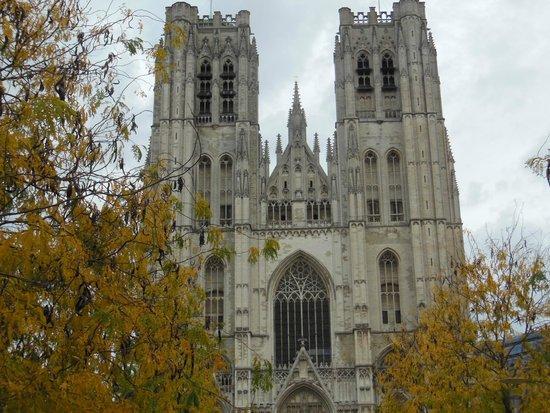 Cathédrale Saints-Michel-et-Gudule de Bruxelles : Fachada da Catedral