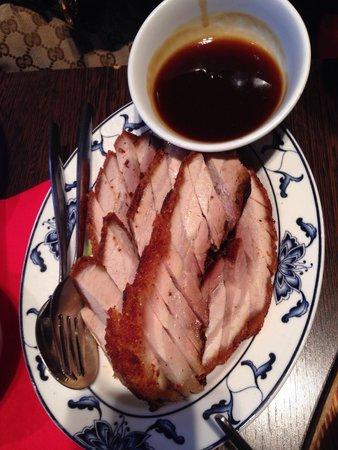 New King: Roast pork