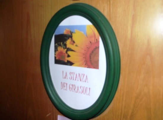 Hotel alla Campagna: Camera dei girasoli / Sunflower's room