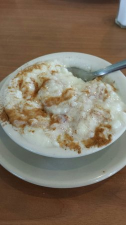 Gander's Family Restaurant: Rice pudding delicious