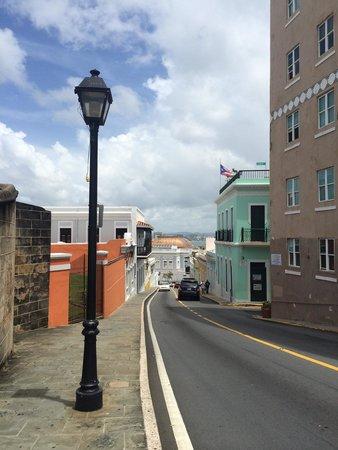 Old San Juan : Beautiful streets.