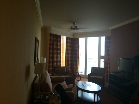 Residence Inn by Marriott St. Petersburg Treasure Island: view living