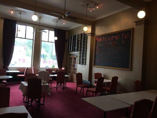 The County Hotel Napier : Local para café da manha
