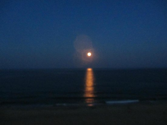 Dunes Manor Hotel & Suites: July 2014 supermoon
