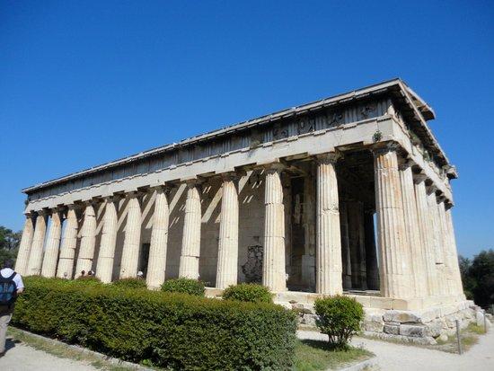 Temple d'Héphaïstéion : Templo