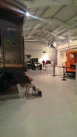 Yukon Transportation Museum : Inside museum