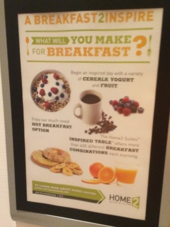 Home2 Suites by Hilton Philadelphia - Convention Center, PA: Free Breakfast