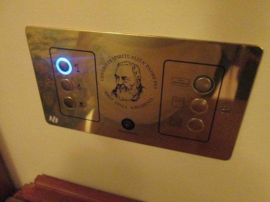 Centro di Spiritualita Padre Pio: pulsanti
