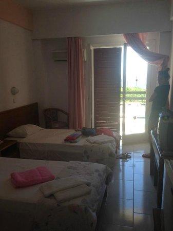 Irinna Hotel: Our room