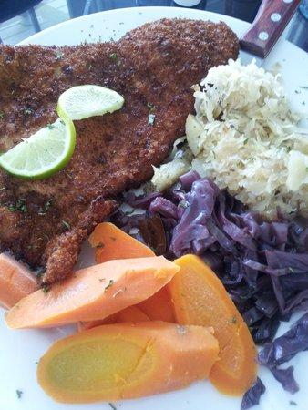 Alsatian Restaurant: Schnitzel Plate