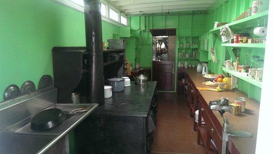 S.S. Klondike : The main kitchen