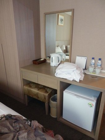 Best Western New Seoul Hotel : Small tight spaces, but clean and compact