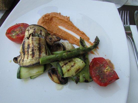 Restaurant Turandot: parrillada verduras