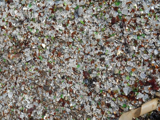 Glass Beach: Stained Glass