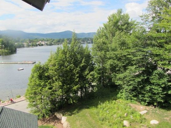 Hampton Inn & Suites Lake Placid: View from our balcony