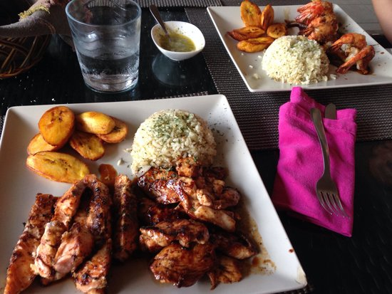 Hopi Bon Grill : Chicken, Salmon and Shrimp