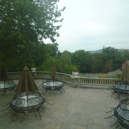 Tarrytown House Estate on the Hudson: View from Biddle House, where we ate breakfast