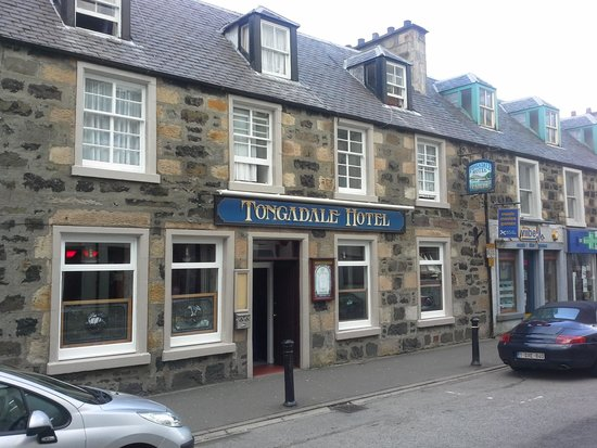 Picture of the tongadale hotel portree for Quaint hotel
