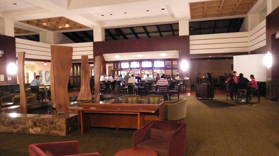 Hyatt Regency Dulles: Lobby bar