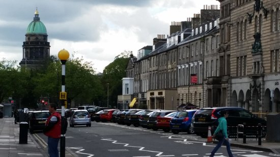 New Town: The wide streets a welcome relief