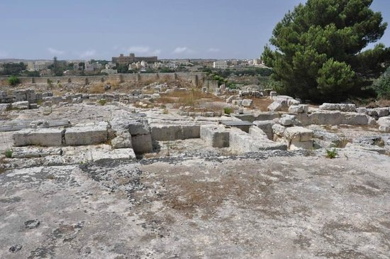 Domus Romana: Ruins outside the main building from the viewing area