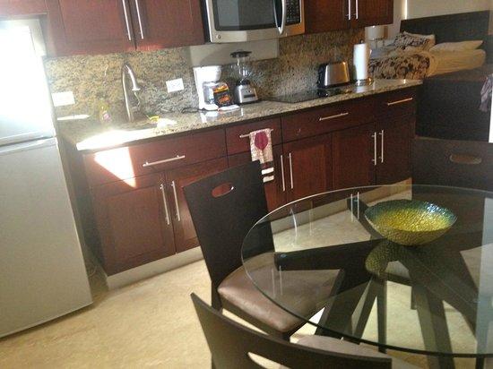 Ciqala Luxury Suites : Full kitchen