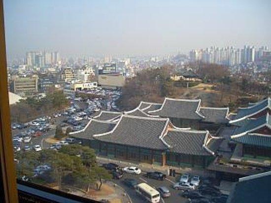 The Shilla Seoul : 部屋からの眺め