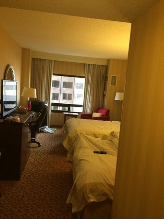 Denver Marriott City Center: double bed guest room