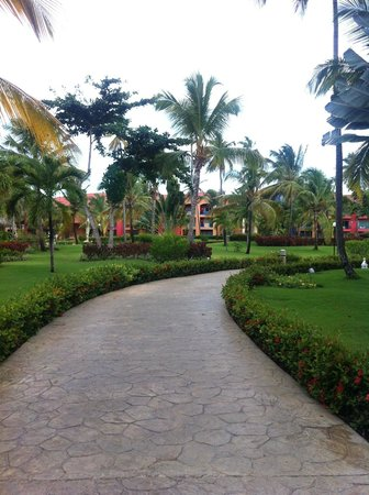 Punta Cana Princess All Suites Resort & Spa: I miss this path..
