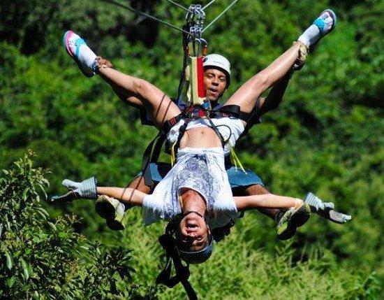 Roatan Honduras Zip Line Canopy Tour