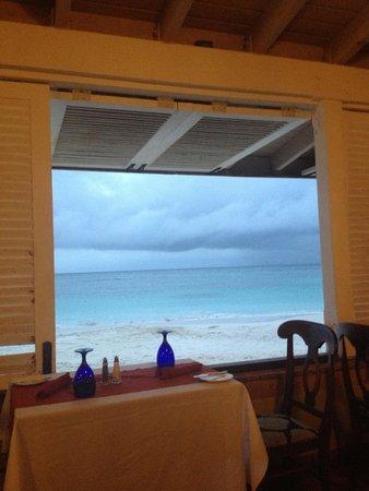 Pineapple Beach Club Antigua : View from Topaz right before rain.