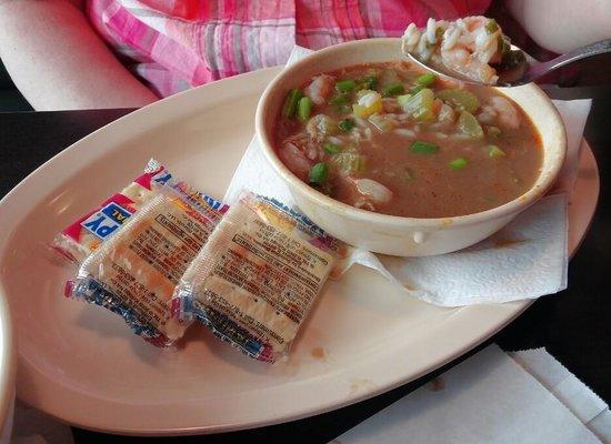 The Bayou Cafe: Seafood Gumbo