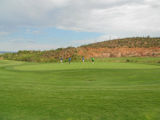 Starr Pass Golf Club: Great view of 9th Hole