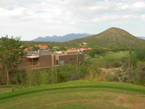 Starr Pass Golf Club: View of homes on the course