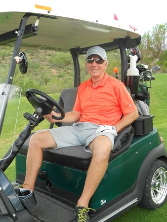 Starr Pass Golf Club: Owner Chris Ansley